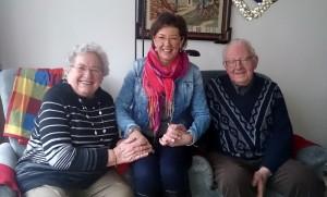 Mijn lieve ouders en ik