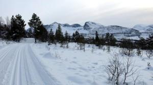Skiën in Vaksvik