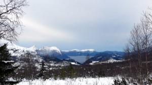 Uitzicht over Storfjorden