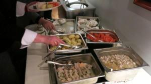 Het kabeljauw-buffet