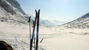 Skiën in Overøye