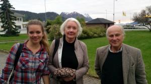 Helen, Kirsten en Lars
