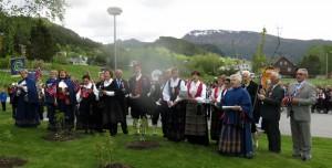 Wij zingen voor de alleroudste bewoners in de gemeente