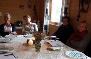 Marit, Vigdis, Aase Pernille. Kari Pauline