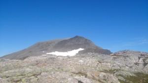 Jolgrøhornet 1253 meter