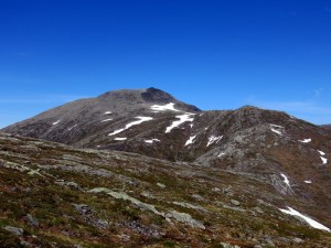 Jolgrøhornet gezien vanaf Jolgrøeggene