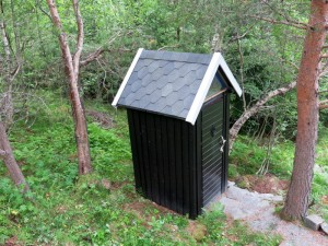 15 toilet geverfd
