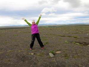 Happy om weer op IJland te zijn