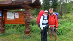 Op weg naar het middelpunt van Noorwegen