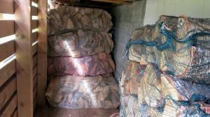 Aanvullen houtvoorraad