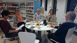 Gunnhild, Vigdis, Elin, Brit en Marit