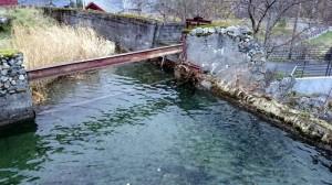 Het oude zwembad