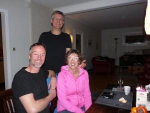 Adri, Gert en Janet