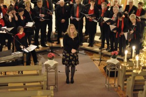 Elise, de dirigente aan het werk