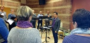 Jon Gorrie, onze nieuwe dirigent vanaf januari 2015