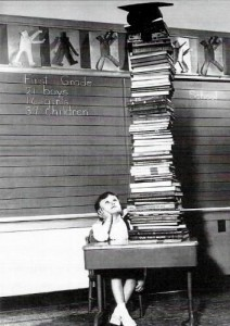 mange bøker
