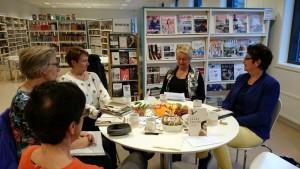 Gunnhild, Elin, Vigdis, Marit en Åse Pernille