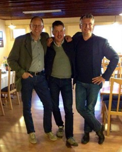Drie burgemeesterkandidaten op een rij: Modolf, Vebjørn en Gert