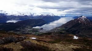 Uitzicht vanaf de top