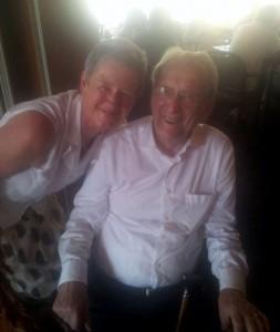 Oom Henk samen met Jennie
