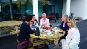 Gunnhild, Emma, Marit, Elin, Kari Pauline