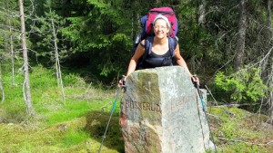 Op de grens van  Buskerud en Telemark