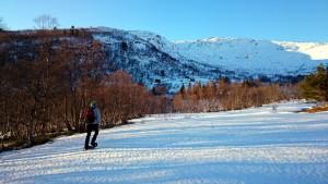 """Op sneeuwschoenen (""""truger"""") naar Ringsetseter"""